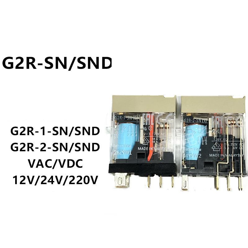 2 шт., версии SND(S), версии SND(S), реле 24 В постоянного тока, оригинал
