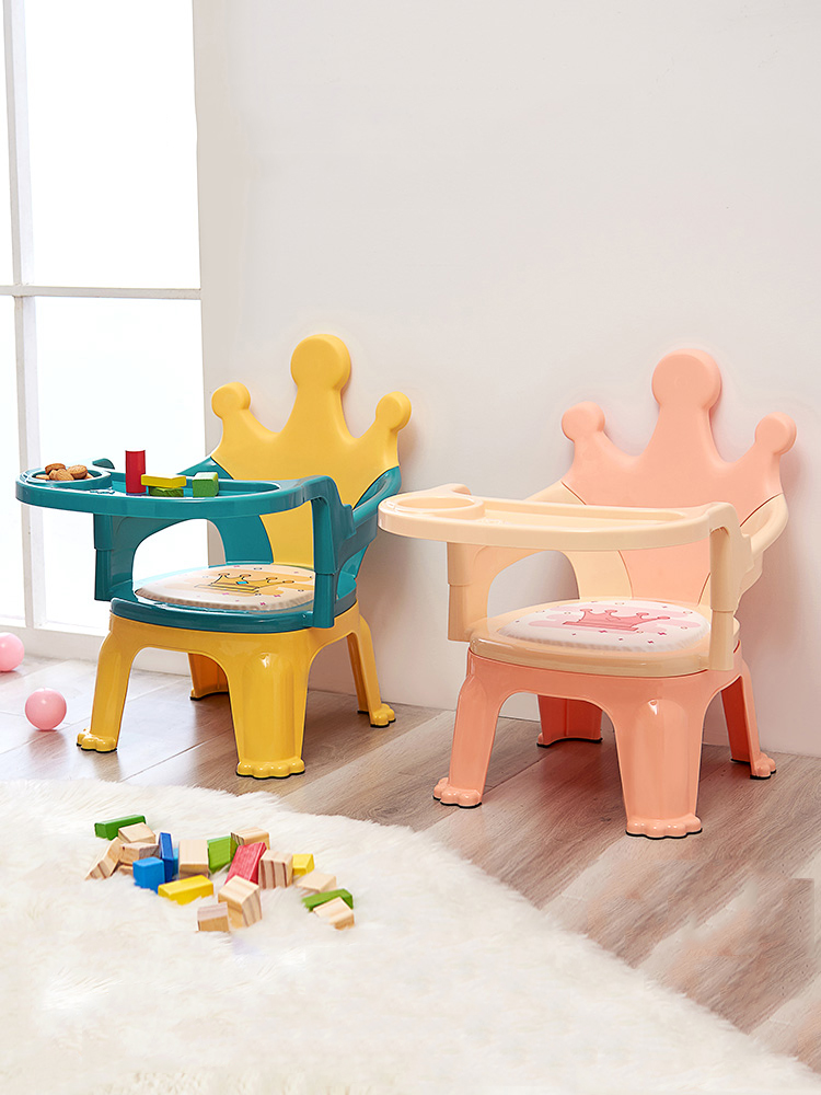 Plastic Children Dinner Chair стульчик для кормления Non Slip Meubles Pour Enfants Multifunction Fauteuil Enfant