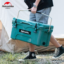 Naturehike Outdoor Cooler Box 25L Large Capacity Food Preservation Box Portable 80h Cooler Fishing Camping Travel Picnic