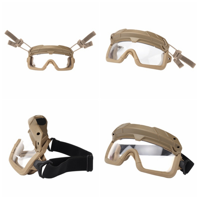 Ветрозащитные тактические очки для страйкбола, охотничьи очки, очки для стрельбы, мотоциклетные очки Wargame, очки для верховой езды, очки для пейнтбола, защита глаз - Цвет: 6