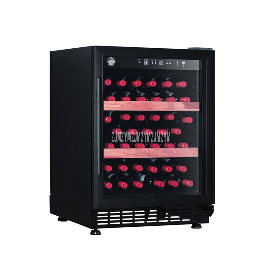 4 Layer Electric Red Wine Cabinet 25-50 Bottle Constant Temperature Beech Wood Household Ice Bar Mini Wine Refrigerator YC-103