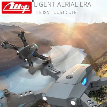 ATTOP X-PACK 10 Mini RC Drone 2,4G 4CH 6-Axis Gyro 3D-Flip modo sin cabeza una tecla de retorno Quadcopter RC helicóptero de jug 1