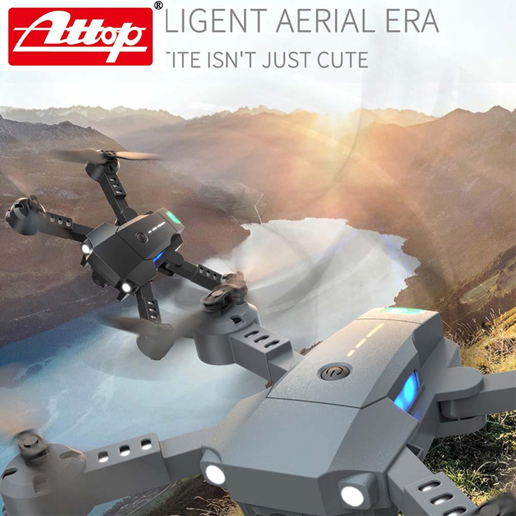 ATTOP X-PACK 10 Mini RC Drone 2,4G 4CH 6-Axis Gyro 3D-Flip modo sin cabeza una tecla de retorno Quadcopter RC helicóptero de jug