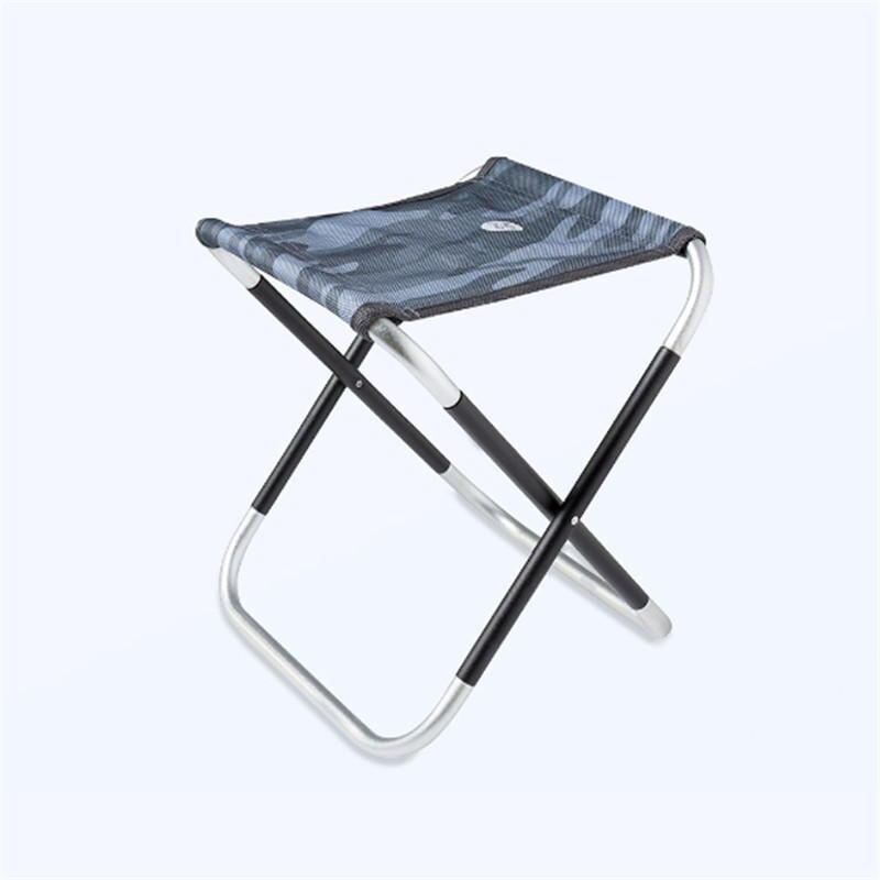 Zenph Outdoor Foldable Fishing Chair Aluminum Alloy Ultra Light Portable Picnic Camping Folding Small Mazar
