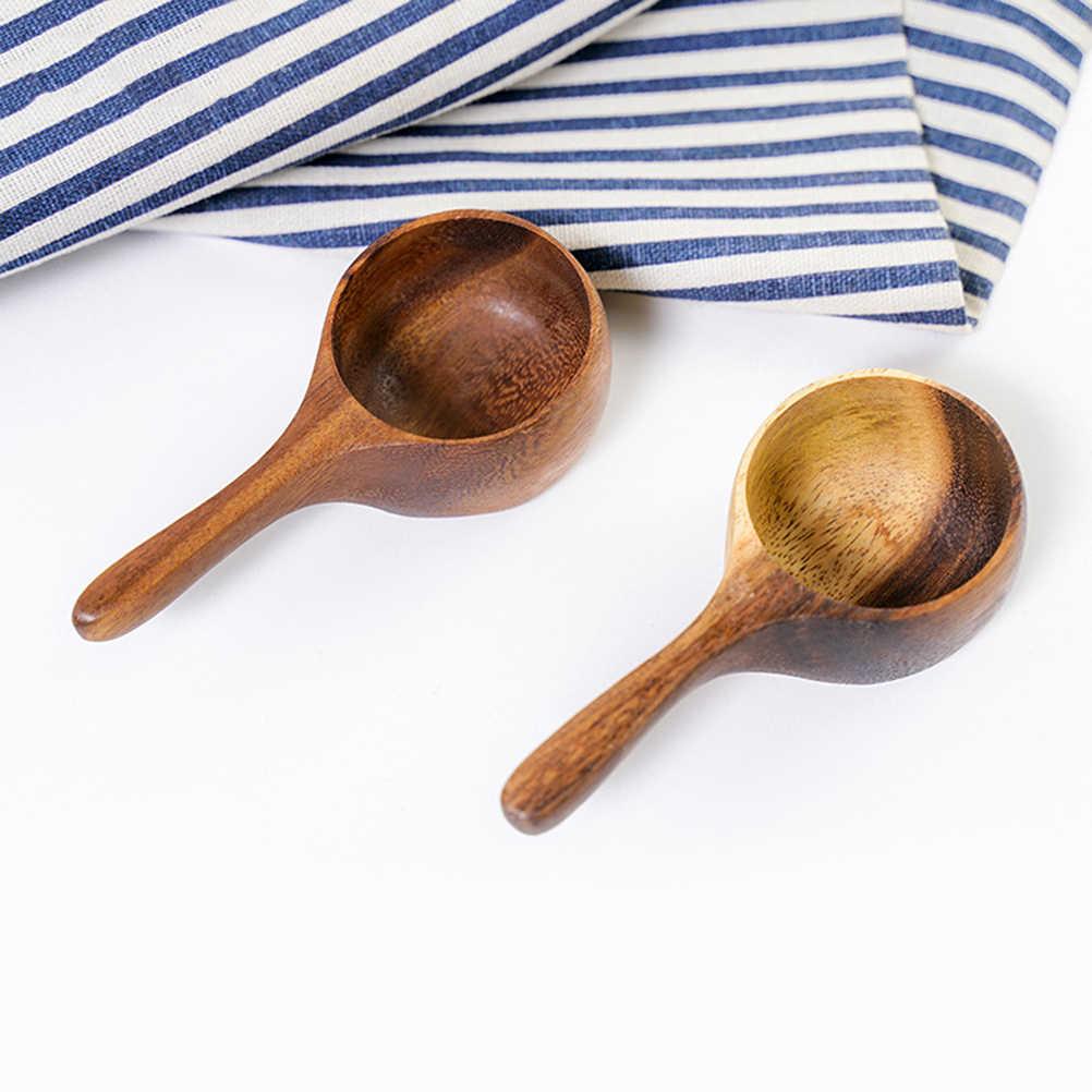1PC Portable Durable Creative Coffee Bean Spoon Milk Powder Spoon for Powder