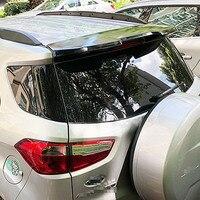 AITWATT Car Styling Spoiler Preto de Alta Qualidade Plástico ABS Spoiler Traseiro Tronco Asa Bota Tampa Para Ford Ecosport 2013 -2018