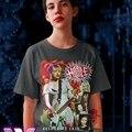 Кожаная футболка с отверстиями для знаменитостей Куртни любви (2)