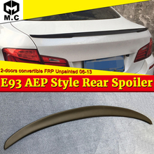 For BMW E93 M3 Spoiler wings P Style FRP Unpainted 3 series 2 Coupe Convertible 320i 330i 328i rear trunk M look 2006-13