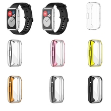 Полный Edge Smartwatch Soft Защитная пленка крышка защита для -Huawei Watch Fit +% 2FHonor Watch экран протектор чехол