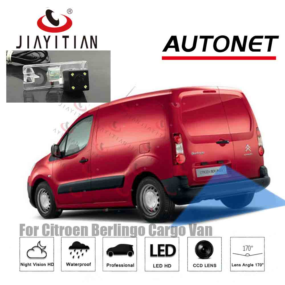 JIAYITIAN Rear Camera For Citroen Berlingo Cargo Van 2008 2009 2010 2011 2012 2013 2014 2015~2019 Backup Camera Reverse Camera