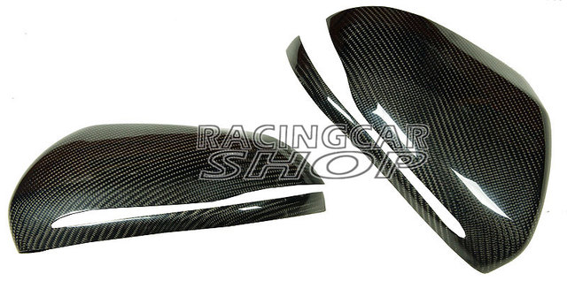 Real Carbon Fiber Mirror Covers 1pair For Mercedes-Benz W205 C-Class 2014UP  M104M 6
