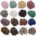 Натуральный кристалл и камень для обработки, розовый кварц, аметист, лабрадорит, украшение, аквариумные гранулы, гравий, аксессуары для твор...
