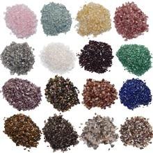 Bulk Natural Crystal and Stone Processing Rose Quartz Amethyst Labradorite Decoration Aquarium Granule Gravel DIY Accessories