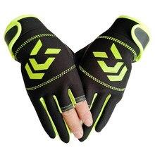 1 para rękawice wędkarskie kobiety mężczyźni Outdoor ochrona wędkarska antypoślizgowe rękawice SBR trzy palce Cut Half Finger rękawice wędkarskie