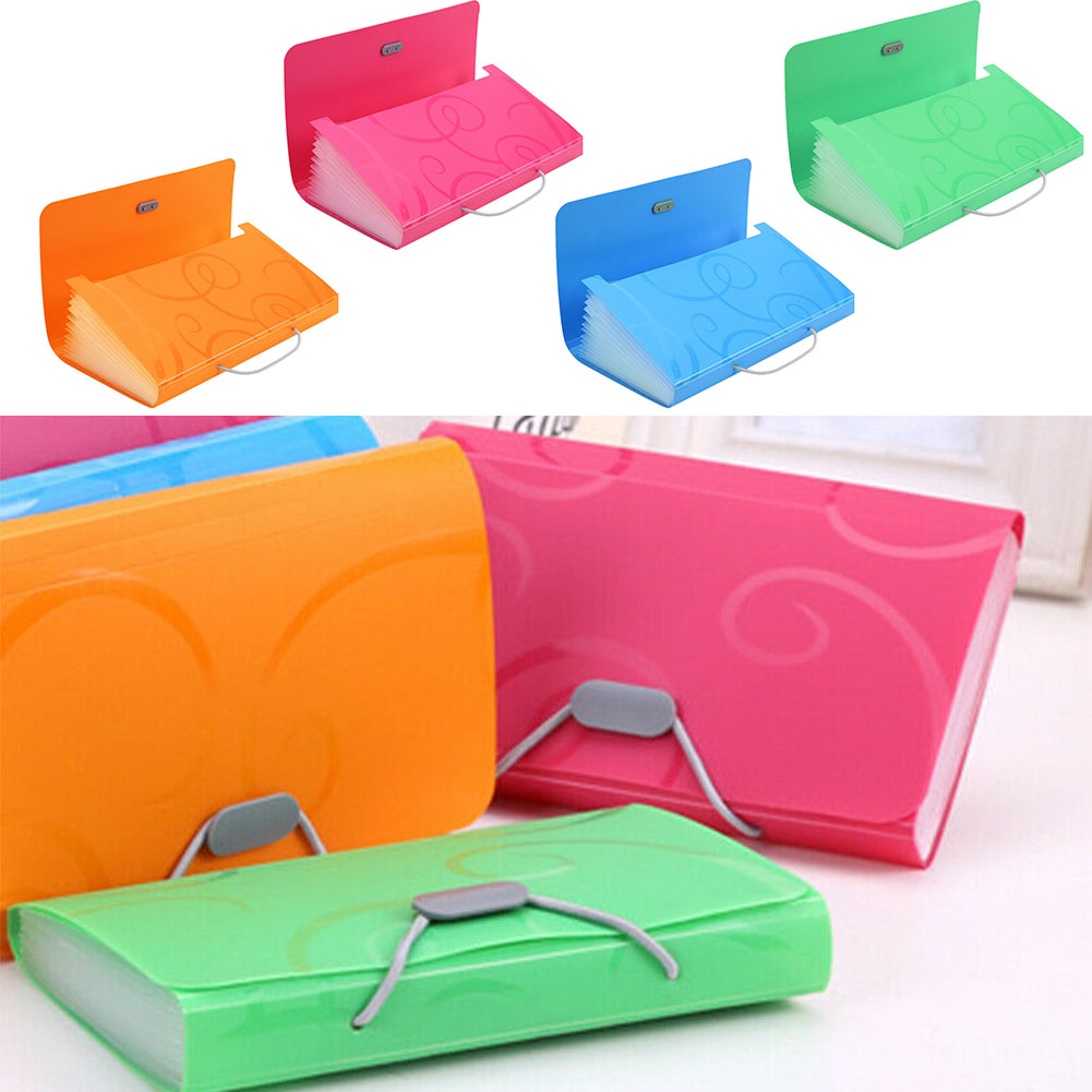 A6 Office Folder File Folder Small Size Office Organizers For Bills Pp Document Organizer File Folder Fashinable Colorful