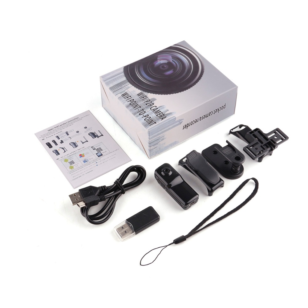 Q7 Wireless WIFI Spy Hidden Camera P2P Video Recorder DVR Night Vision MD81