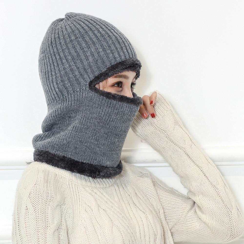 Chapeau hiver chaud tricoté hommes femmes
