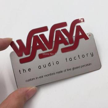 Very creative design of metal business card,Metal Card Factory Supply Custom Logo Stainless Steel Metal