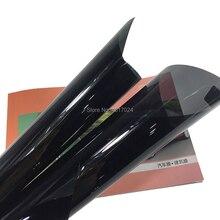 50 см X 200 см Супер Анти-Царапины теплоизоляция VLT5% уголь цвет 2Ply окрашенная тонировка стекол от солнца