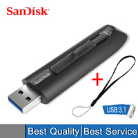 SanDisk CZ800 Extreme Go USB 3.1 Flash Drive 64GB Pendrive USB Memory Stick 128GB Flash Disk Write 150MB/s For TV/PC/Car Player