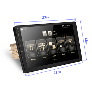 Image 2 - 2 DIN Android 9.0 Ouad Core PX6 Radio Stereo GPS NAVI Âm Thanh Video PC Box Wifi BT HDMI amp 7851 OBD DAB + SWC 4G + 32G