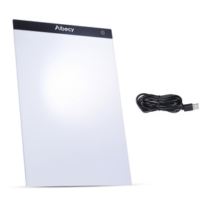 Aibecy A4 ultra-cienki przenośny kaseton LED rysunek Tracer tabela malowanie Tracing Pad deska do kopiowania Panel