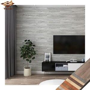 Drewniana podłoga PVC kafelkowa naklejka samoprzylepna tapeta naklejka ścienna do kuchni dom sypialnia salon DIY ściana wystrój ziemi