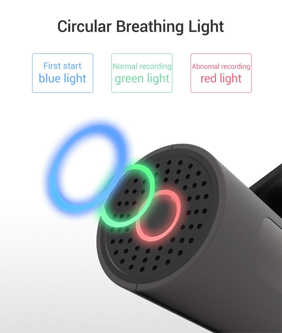 English Voice Control Car Camera Recorder / Dash Cam