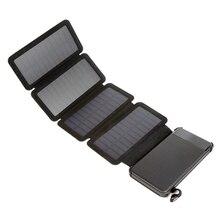 Solar mobile power detachable folding creative solar outdoor universal charging treasure emergency power