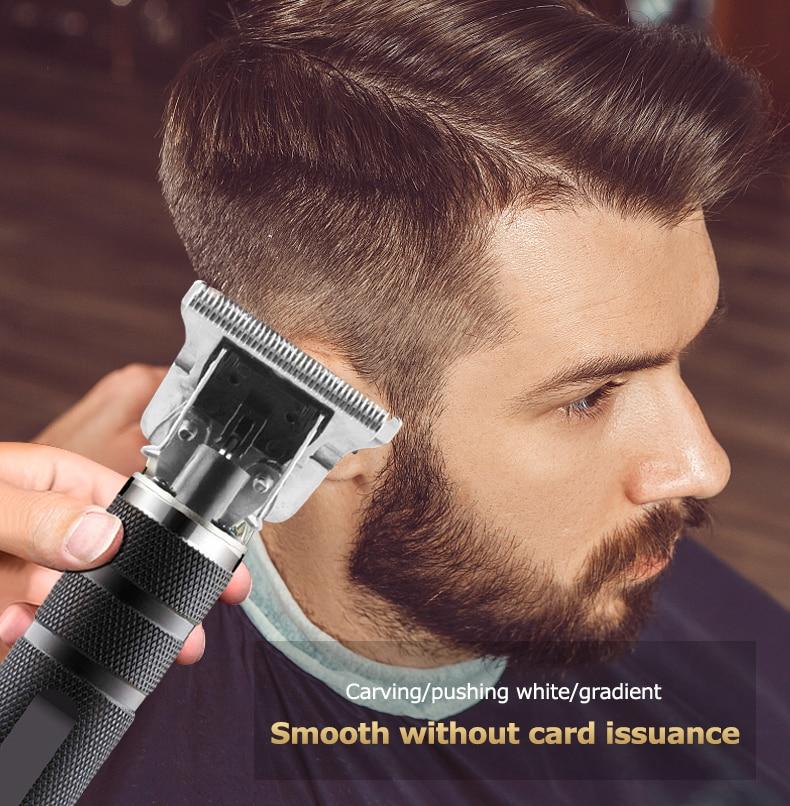 Электрический триммер для волос, 0 мм, профессиональная машинка для стрижки волос, мощная машинка для бритья, машинка для стрижки волос, элек...