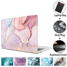 case for macbook air pro 13 12 15 16 hard cover marble for macbook ar 13 deep m1 a2337 2020 portable sleeve bag a2338 a2179