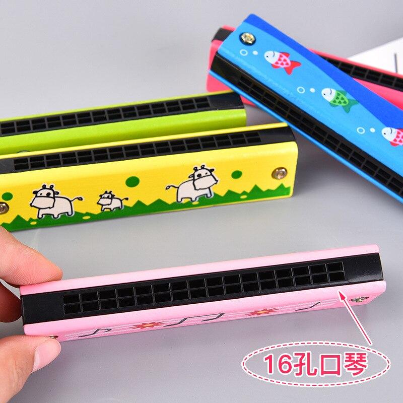 Harmonica Children Wood Harmonica Beginners Children For Playing 10 Yuan Children Have Gift Small Gift