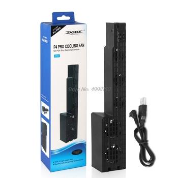 5-wentylator zewnętrzny Super Turbo wentylator chłodzący USB dla Playstation4 PS4 Pro ConsoleWholesale dropshipping tanie i dobre opinie Free_on Brak CN (pochodzenie)