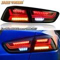 Задний противотуманный фонарь + стоп-сигнал + задний фонарь + Динамический указатель поворота  Автомобильный светодиодный задний фонарь для...