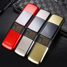Flip 2.4″ screen original flip metal phone G3  big keyboard cheap senior touch mobile phone Phone Elder clamshell Cell phones ru