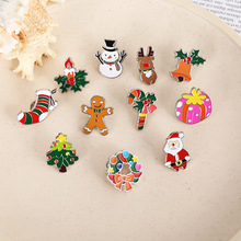 Socks Badge Cute Bag Gift for Friends Clothing-Accessories Snowman Christmas-Brooch-Spot