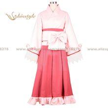 Kisstyle moda nekogami yaoyorozu sasana shosoin uniforme cos vestuário cosplay traje, personalizado aceitado