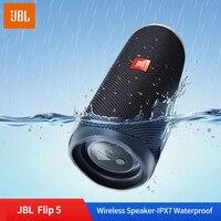 JBL Flip 5 Portable Bluetooth Speaker IPX7 Waterproof Wireless loudspeaker Stereo Music Kaleidoscope Audio Pairing USB Charging
