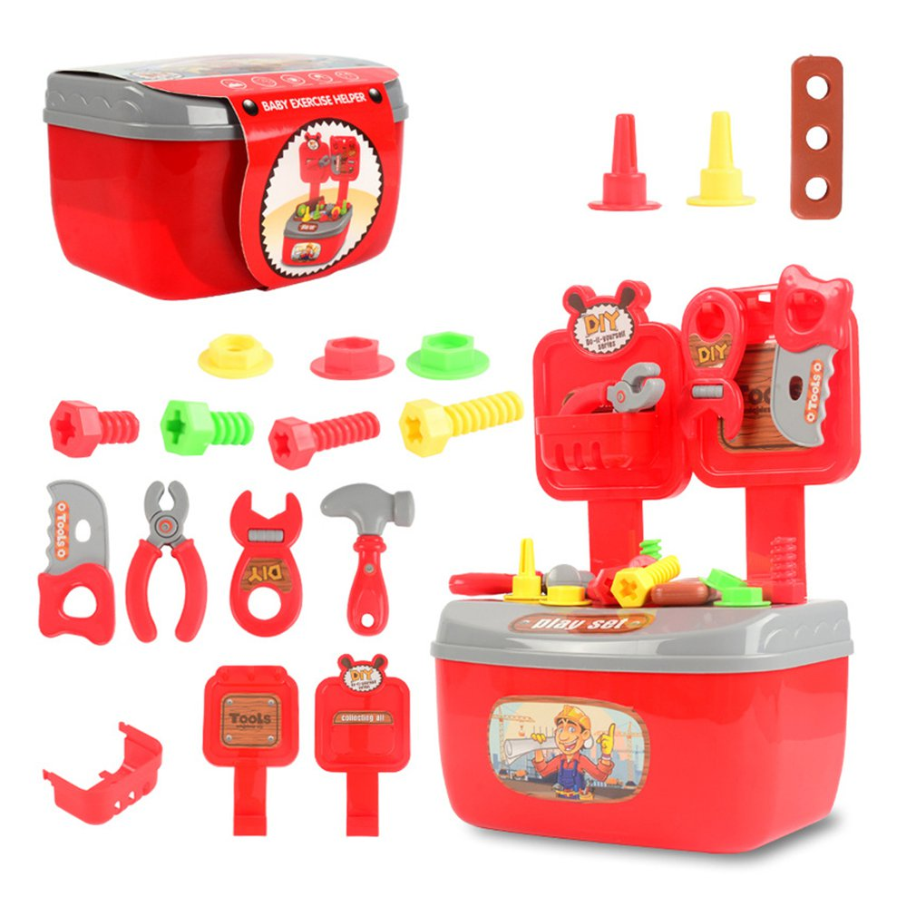 Children'S Toolbox Play House Toy 22 Sets Of Portable Repair Kit Toy Set Kindergarten Children'S Toys