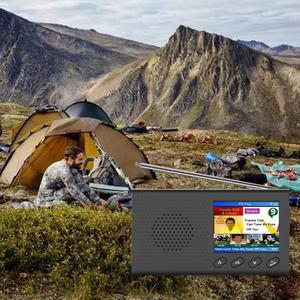 Image 5 - Dab receptor portátil rádio fm bluetooth 4.2 leitor de música 3.5mm saída estéreo