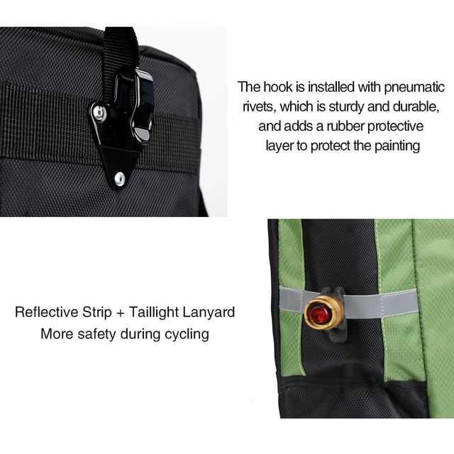 Bicycle Pannier Bags Large Touring Size