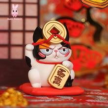 Model-Ornaments Toys Blind-Bag Guess-Bag Figures Noodle Anime Cat Instant Ciega Season-3