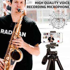 Image 2 - UHF saksofon Mic bezprzewodowy system mikrofonowy klip na instrumenty muzyczne na saksofon trąbka Sax Horn Tuba flet klarnet rury