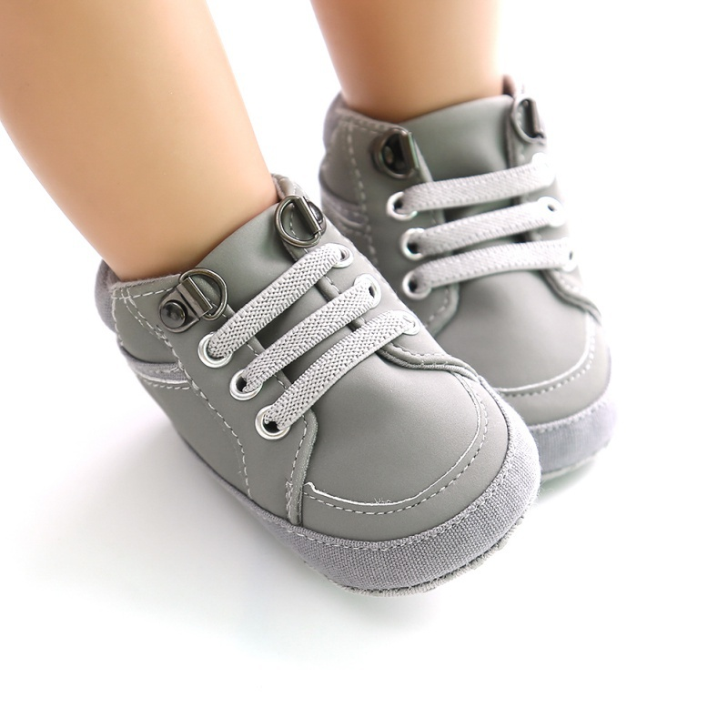 Shoes For Toddlers Winter Children Baby Girls Boys Shoes Solid Cross-tied Fashion Toddler First Walkers Kids Boy Shoes