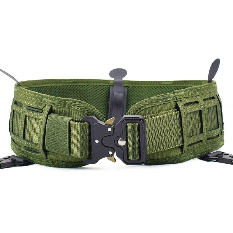 Ceinture tactique rembourrée Molle ceinture de chasse Wargame Paintball ceinture militaire armée taille soutien Airsoft ceintures de Combat