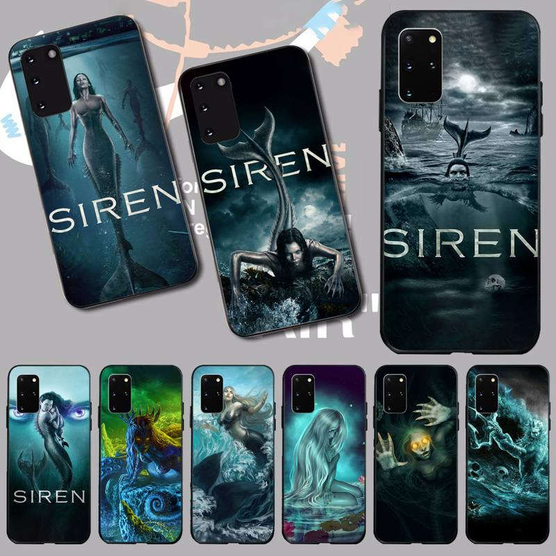 NBDRUICAI Siren Season 2 Black Soft Shell <font><b>Phone</b></font> <font><b>Case</b></font> Capa for <font><b>Samsung</b></font> S20 plus Ultra S6 <font><b>S7</b></font> edge S8 S9 plus S10 5G image