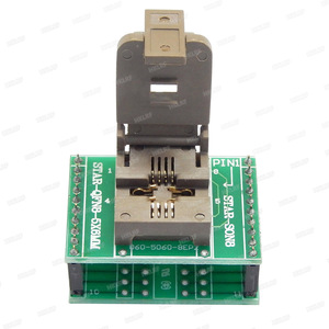 Image 3 - QFN8 to DIP8 Programmer Adapter WSON8 DFN8 MLF8 to DIP8 socket for 25xxx 5x6mm Pitch=1.27mm
