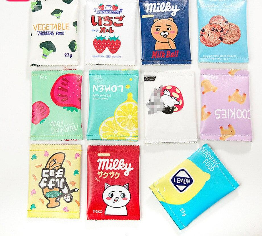 Cute Snacks Purse Model Fun Biscuit Clutch Mini Simple Coin Bag Creative Storage