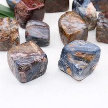 100g natural crystal gravel Pietersite original stone ornaments energy  specimen ore