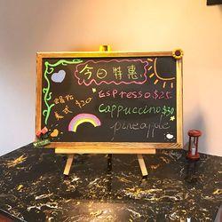 Desktop Memo Message Blackboard Easel Chalkboard Bracket Sketchpad Kids Writing